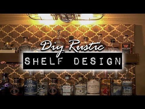 DIY Rustic Shelf Design Project | DIY & Home Design