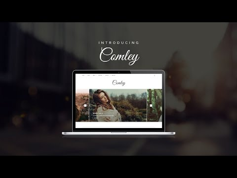 Comley Premium WordPress Theme by Y Design Services