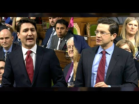 Justin Trudeau, Pierre Poilievre get into heated debate about balancing of the budget