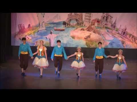 "2016 -  J & K Recital ""Dancing Around the World"""