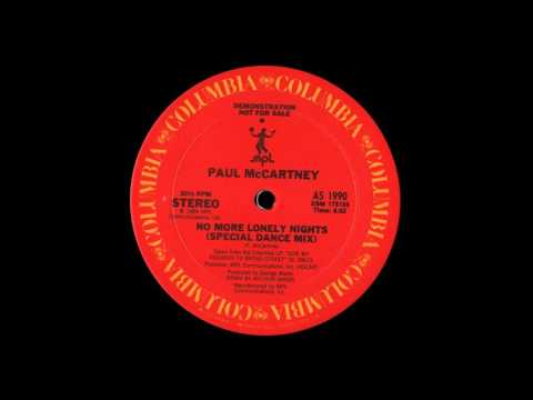 No More Lonely Nights (Special Dance Mix) - Paul McCartney
