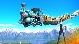 DONT RIDE IT YET! Building a new coaster in Planet Coaster!! (epic)