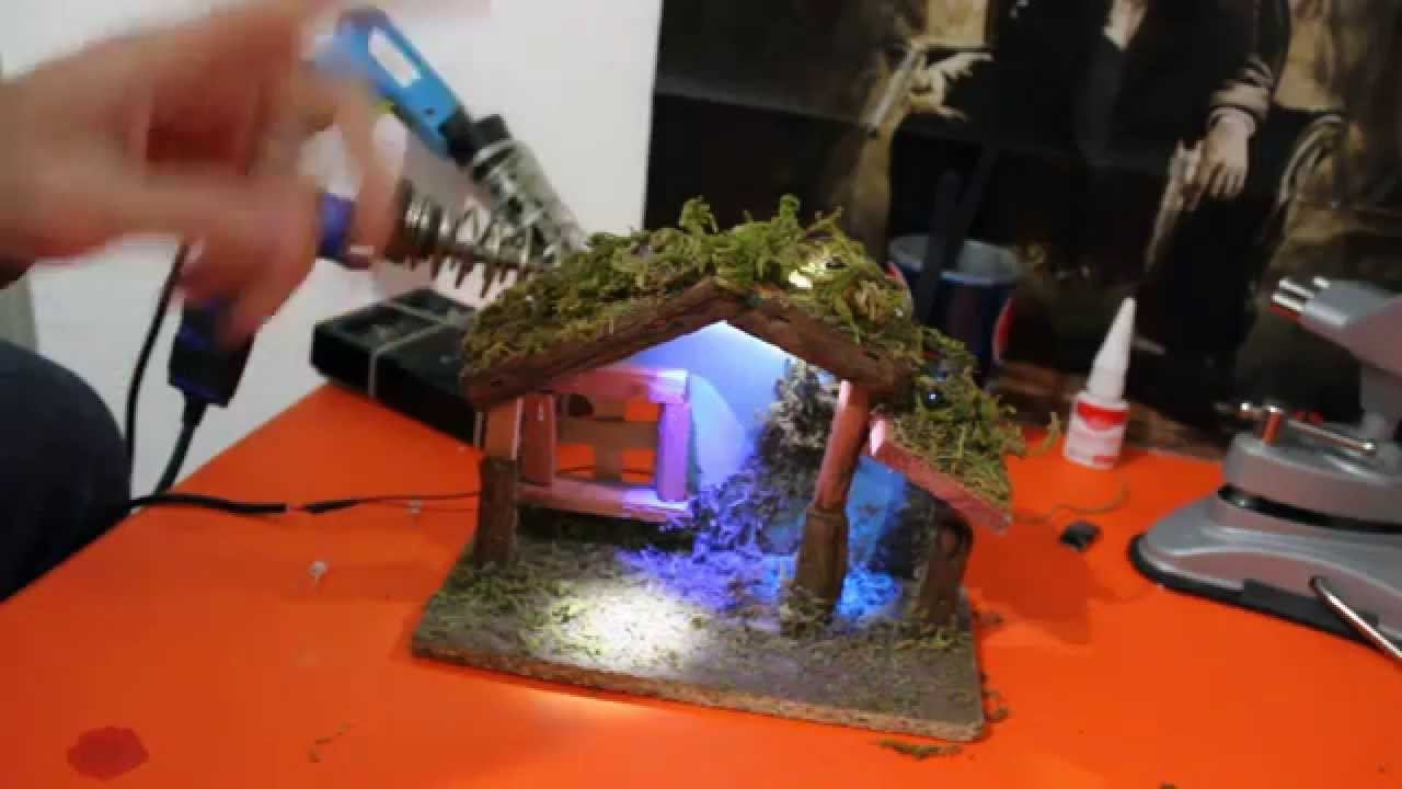 Mini tutorial come installare led sul presepe youtube