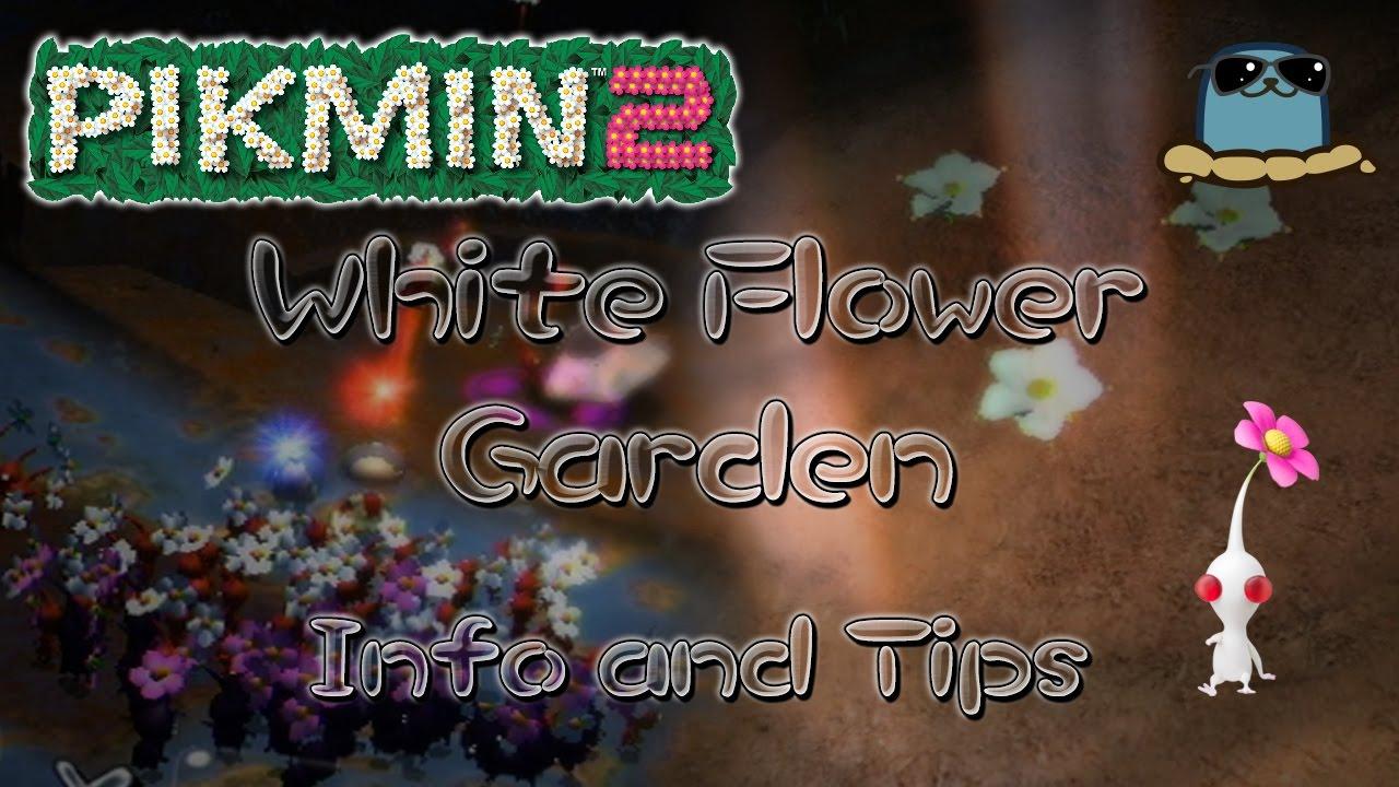 Pikmin 2 White Flower Garden Info And Tips Youtube