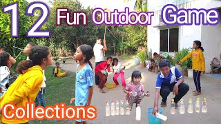 12 Collections Of Fun Outdoor Games