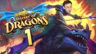 Descent of Dragons Review #1 Galakrond Special! | Hearthstone