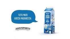Juustoportin Vapaan lehmän maitotuotteet ovat vastuullinen valinta