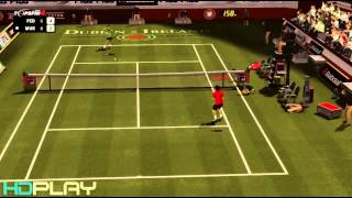 Top Spin 4 - Federer VS Murray Expert Difficulty (Commentary)