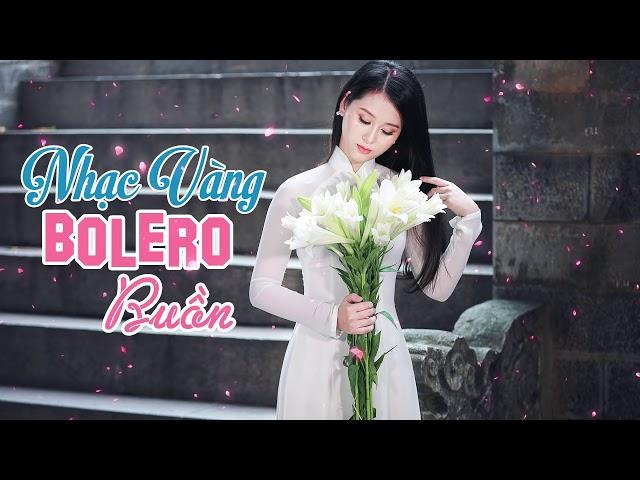 Nhạc Vàng Bolero Buồn RU NGỦ VỀ ĐÊM | Lk Bolero Trữ Tình Dễ Nghe Mà Cũng Dễ Ngủ