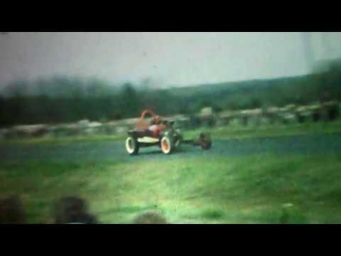 Vintage 8mm Film Louisa Drag Strip- Louisa, VA