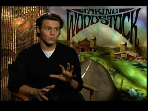 Jonathan Groff interview for Taking Woodstock