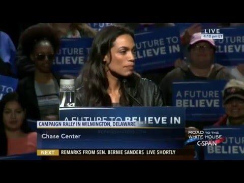 Senator Bernie Sanders Campaign Rally in Wilmington Delaware