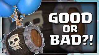 LAVAHOUND SKELETON BARREL | GOOD or BAD?! | Clash Royale Skeleton Barrel Deck