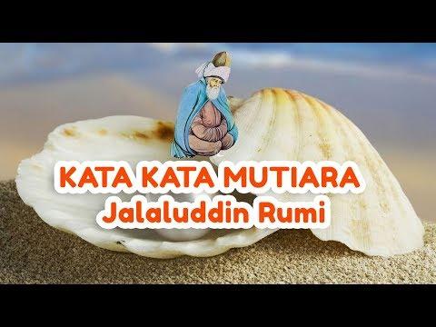 Kata Kata Mutiara Cinta Dari Jalaluddin Rumi Youtube