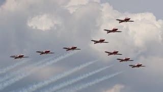 Canadian Forces Snowbirds - Entire Performance - Rockford AirFest 2014