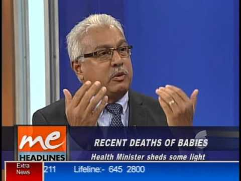 Minister of Health- Morning Edition Appearance Nov 13, 2015
