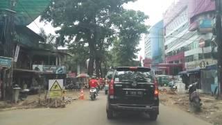 Vlogging : kondisi jalan cihampelas saat proyek sky walk 17 oktober 2016