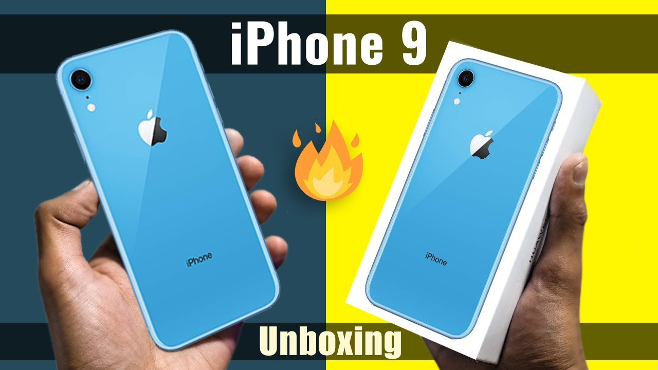 iPhone 9 Unboxing & First Look + Small Giveaway 🔥 🔥 🔥