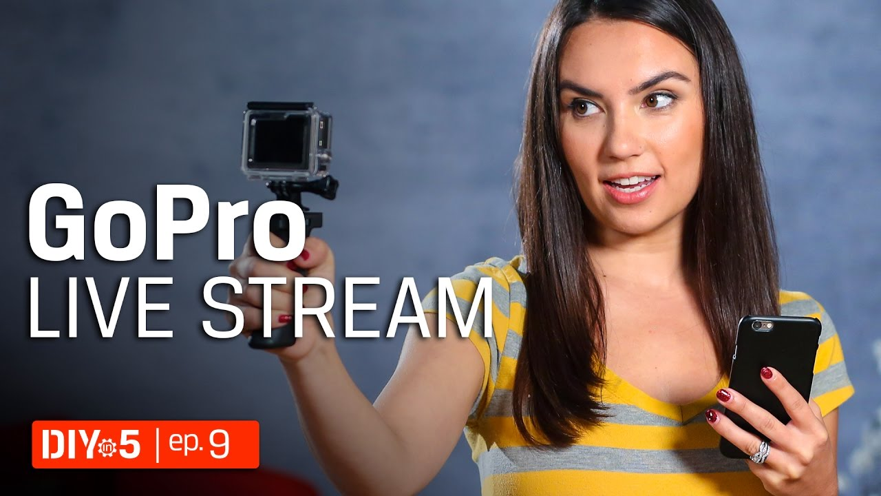how to watch live stream gopro on pc