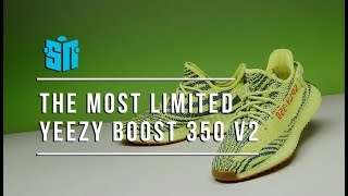The Most Limited Yeezy Boost 350 v2