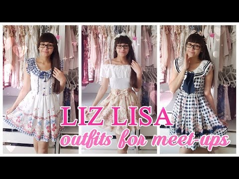 Liz Lisa リズリサ 5 outfits for meeting my friends {spring / summer}