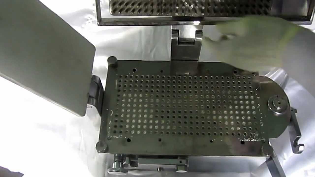 hand operated capsule filling machine manual