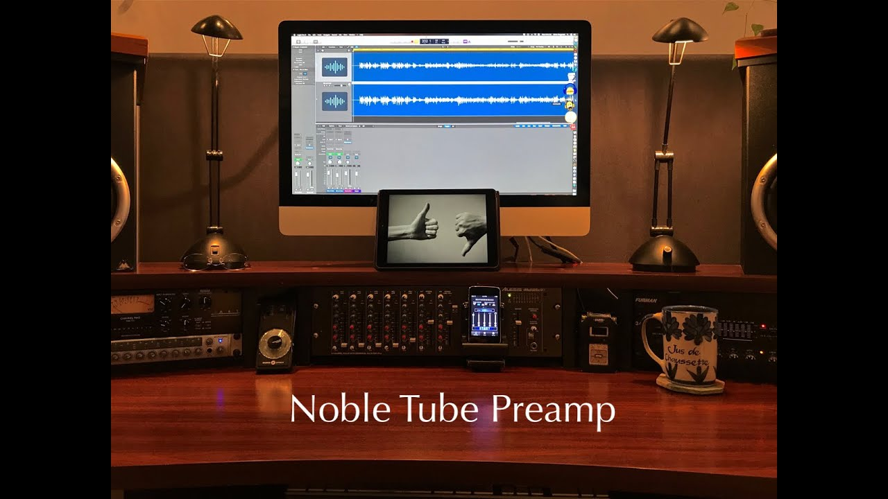 Review Desk: Noble Tube Preamp
