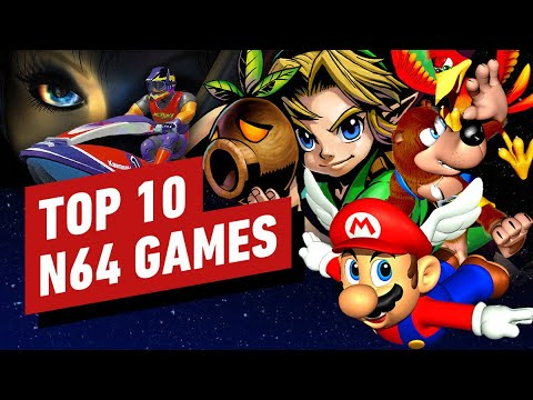 Top 10 Nintendo 64 Games Of All Time