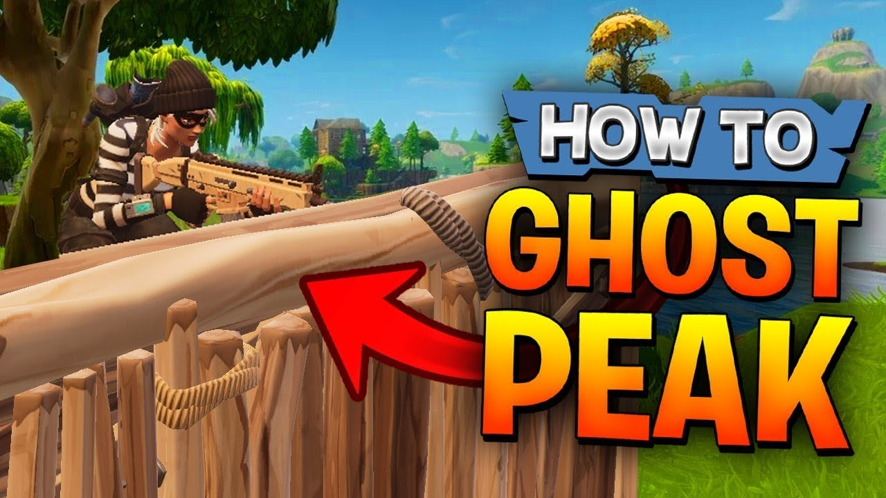 Video How to Ghost Peak in Fortnite (Like Faze Tfue) - Advanced Fortnite Tips