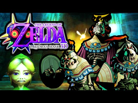 The Legend of Zelda Majora's Mask 3DS Gameplay Walkthrough Ikana Castle King Boss PART 25 Nintendo
