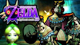The Legend of Zelda Majora's Mask 3DS Gameplay Walkthrough Ikana Castle King Boss PART 25 Nintendo
