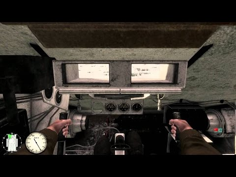 Best View from the Tank Inside in PC games ! Inside of a T-34 and Pz 4 . Red Orchestra 2