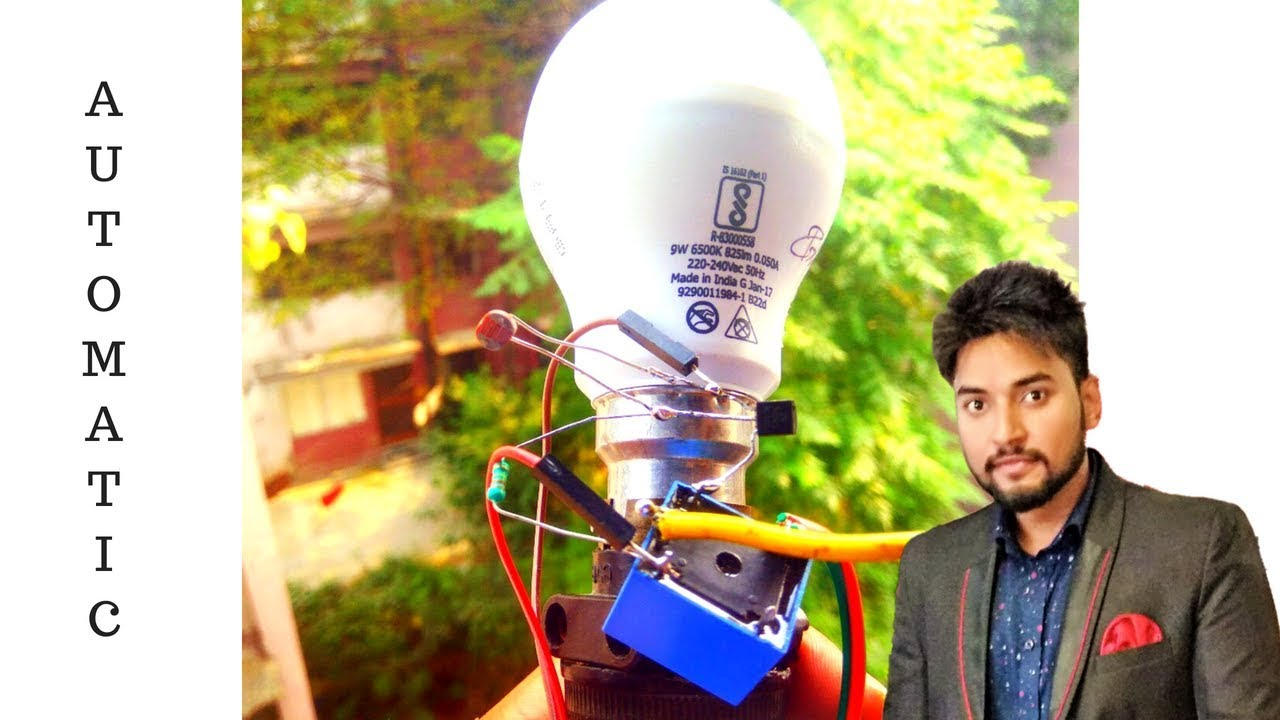 220 Volt Automatic Led Light How To Make Emergency Circuit Using Ldr