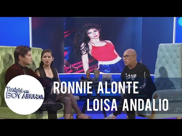 TWBA: Ronnie Alonte does not want Loisa Andalio to post sexy pictures