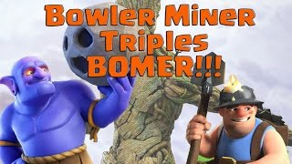 ✳️Easy Th11 Three Star Bowler Miner Attacks!✳️ How To Defend Bowlers