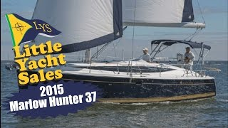 Sailing The New Marlow Hunter 37 At Little Yacht Sales, Kemah Texas