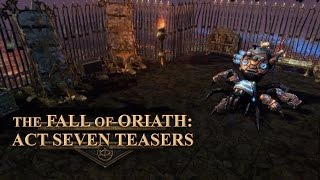 The Fall of Oriath: Act Seven Teasers