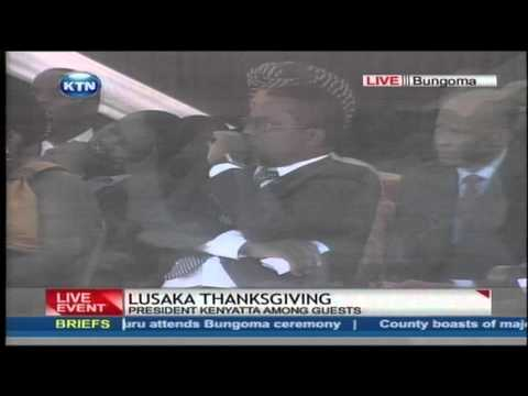 Bonny Khalwale warns Governor Ken Lusaka in a public rally