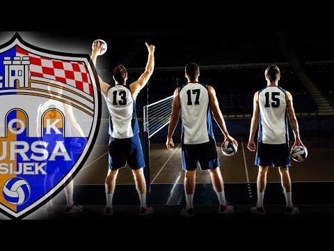 MOK MURSA Osijek vs. HAOK MLADOST Zagreb | Croatian 1A volleyball league