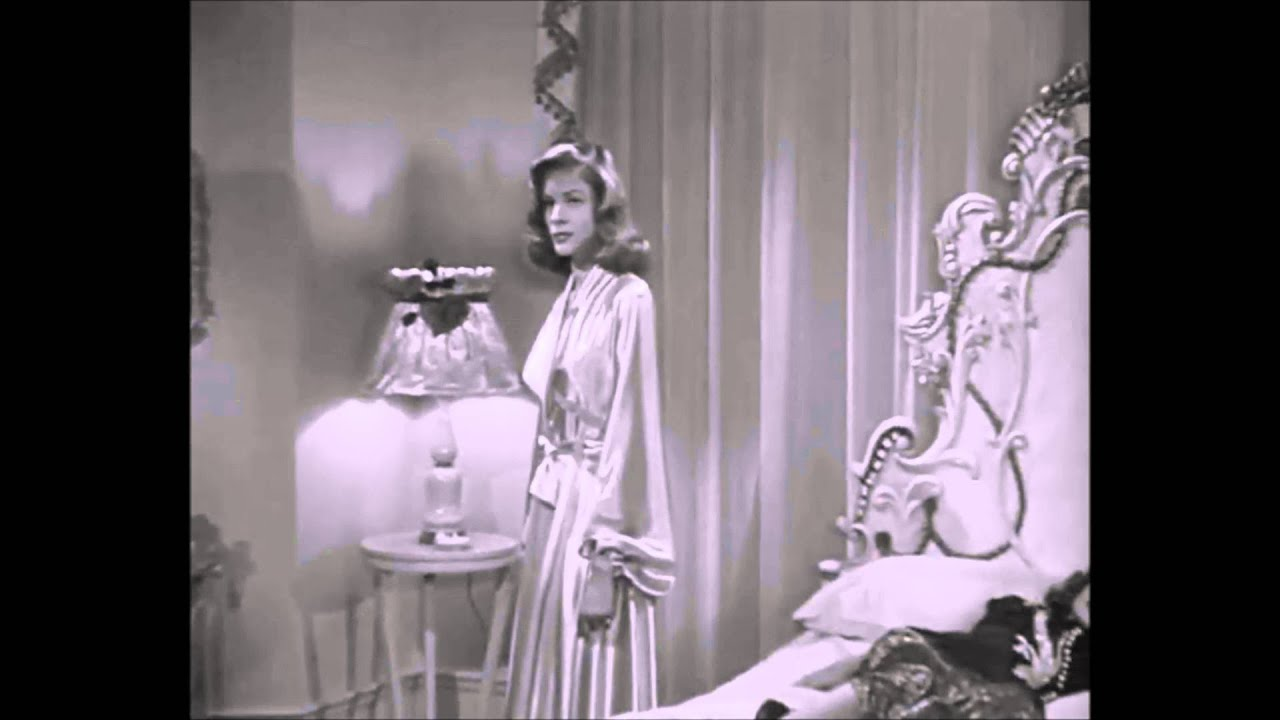 Lauren Bacall - Luxurious Vintage Satin Dressing Gown Robe - YouTube