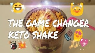 THE GAME CHANGER KETO SHAKE - WHAT I DRINK TO LOSE WEIGHT