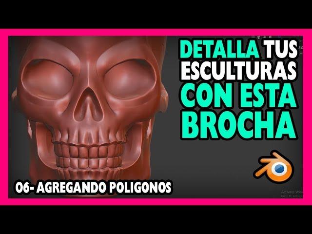 😰 DEFINIR VOLÚMENES sin millones de polígonos | Curso escultura digital blender 2.8 |  Magnaomega