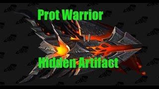 Prot Warrior Hidden Artifact Post Nerf FOUND!!