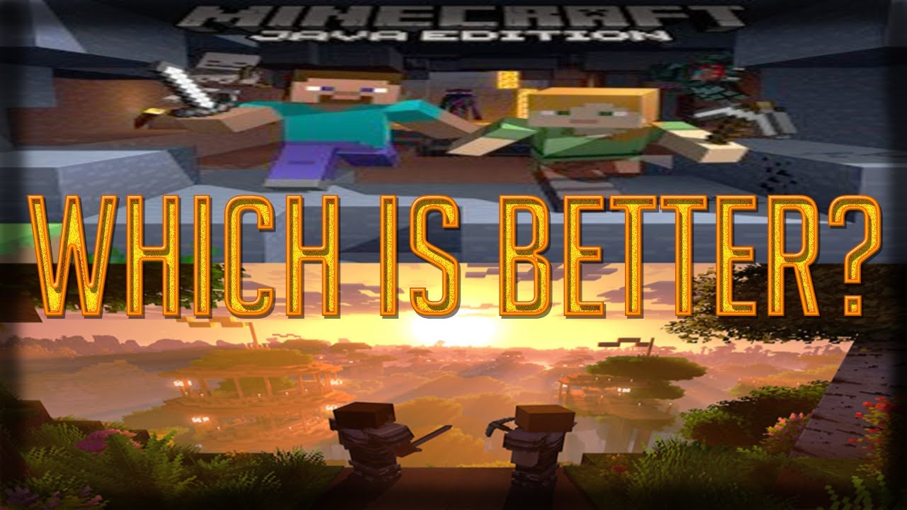 Minecraft Bedrock vs. Java - YouTube