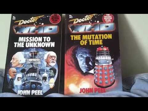 Doctor Who Mission to the Unknown & Mutation of Time Book review(s)