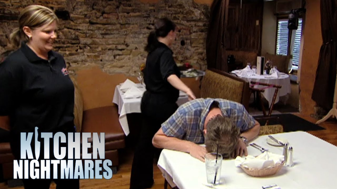 Delusional Owner Thinks He Gets The Same Produce As The White House | Kitchen Nightmares image