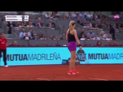 2017 Mutua Madrid Open Day 3 | Shot of the Day | Genie Bouchard