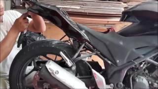 Cara Pemasangan Fairing Model R25 Mix body Ninja FI ke Honda CB 150R