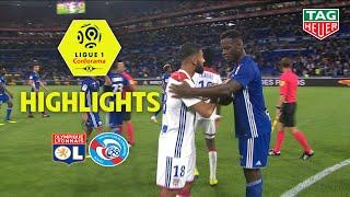 Olympique Lyonnais - RC Strasbourg Alsace ( 2-0 ) - Highlights - (OL - RCSA) / 2018-19