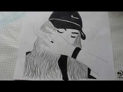МОИ РИСУНКИ#2 TUMBLR MÄDCHEN Malen Zeichnen GIRLS DRAWINGS💭